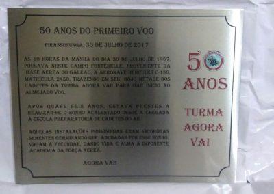 Placas de homenagem Rio de Janeiro