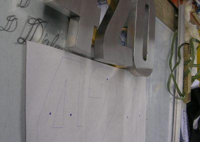 corte de letras a laser