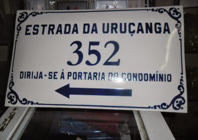 fabrica Placa Esmaltada