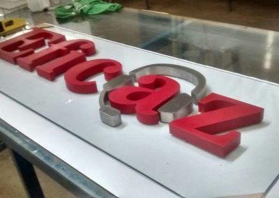 Letras Caixa Galvanizadas Centro RJ-min
