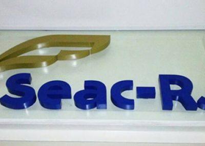 Letras mdf Logotipo letreiro vidro Rio de Janeiro